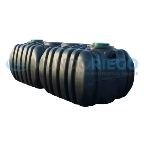 Depósito enterrado agua PEAD 8000l FV8000 QR