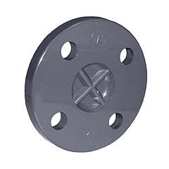 Brida ciega PVC ø125mm PN16