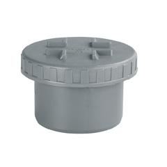Tapón reductor PVC sanitario ø160mm-ø125mm macho gris