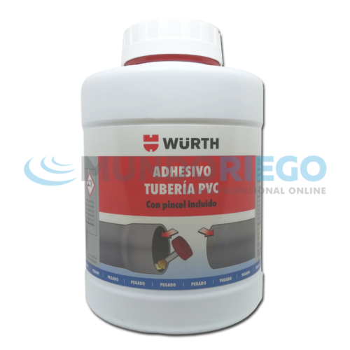 Adhesivo tubo PVC 1000ml brocha