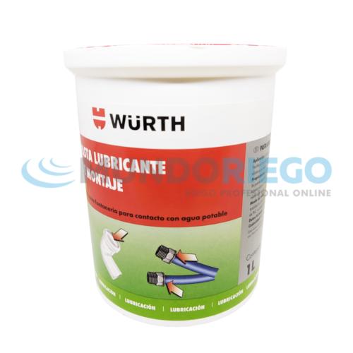 Lubricante juntas elásticas PVC y PE 1 litro WURTH