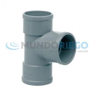 Tapón reductor PVC sanitario ø160mm-ø110mm macho gris