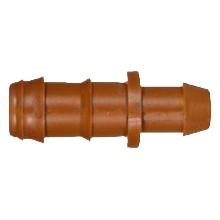 Conexión injerto seguridad ø16mm tubería PE acetal marrón