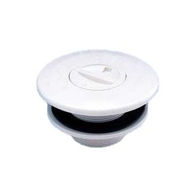 """Boquilla aspiración ABS rosca exterior 2"""" p.prefabricada R:00336"""