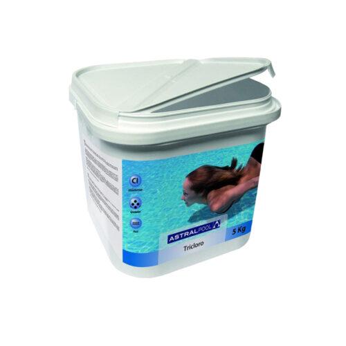 Desinfectante cloro Multiacción compacto 250 gr 5kg R:34439