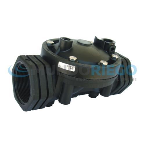 Válvula hidráulica plástico 2.1/2'' GAL PN10