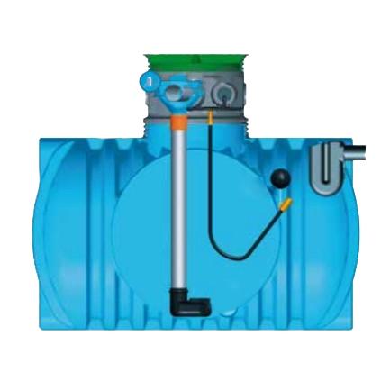 Kit recuperación aguas de lluvia