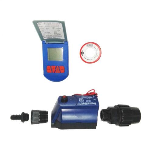 Kit de riego automatizado 2 sectores
