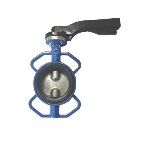 Válvula mariposa fundición DN600 reductor disco inox. VAMEIN