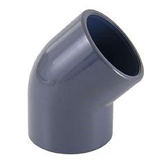 Codo PVC 45º mixto ø20mm - rosca hembra 1/2'' PN10