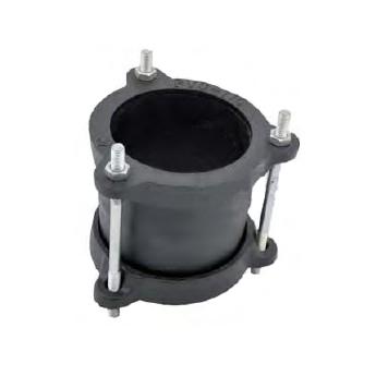 Abrazadera unión Gibault para PVC ø400mm