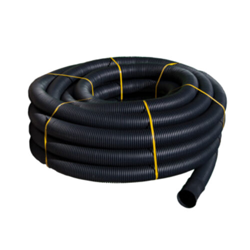 Tubo PE drenaje ø110mm corrugado barra