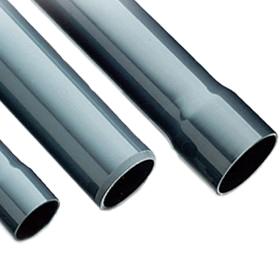 Tubo PVC junta elástica ø63mm 6 atmósferas