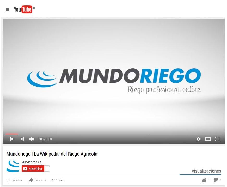 Mundoriego estrena canal de YouTube