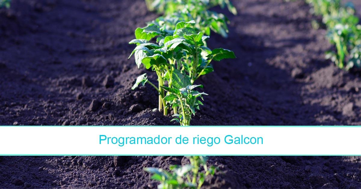 ¿Cómo funciona el programador de riego Galcon?