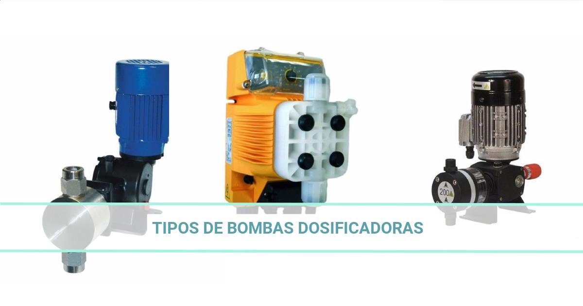 Tipos de bombas dosificadoras