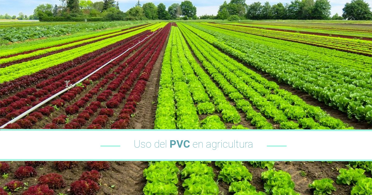 Uso del PVC en la agricultura