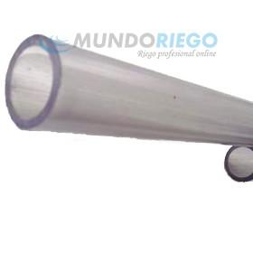 Tubo PVC transparente ø25mm PN10