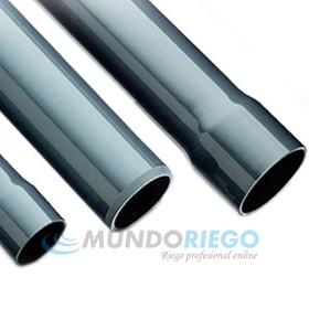 Tubo PVC encolar ø125mm 12,5 atmósferas