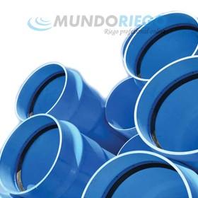 Tubo PVC orientado ø125mm 12.5 atmósferas