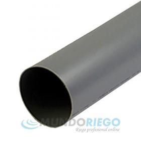 Tubo PVC evacuación ø125mm serie B barra 5m
