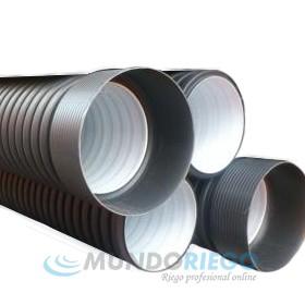 Tubo PE saneamiento ø400mm SN4 corrugado