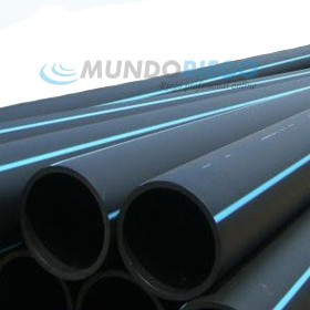 Tubo PE 100 alimentario ø140mm 10 atmósferas barra