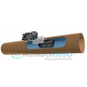 Tubería TECHNET 16mm c/33cm 2l/h e:1.1mm R:100m marrón