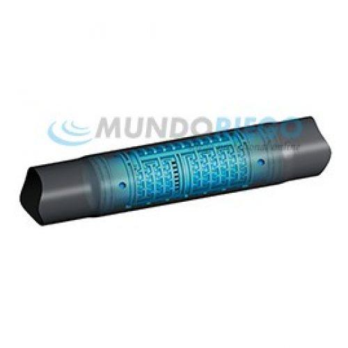 Tubería TANDEM Ø16mm c/33cm 2,1l/h e:1mm R:400m