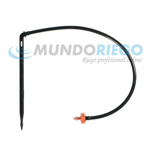 Conjunto hidropónico PCJ CNL 4l/h microtubo 60cm