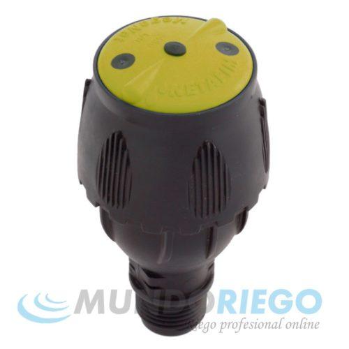 "Aspersor MEGANET 200l/h-24G R.M. 1/2"" amarillo"