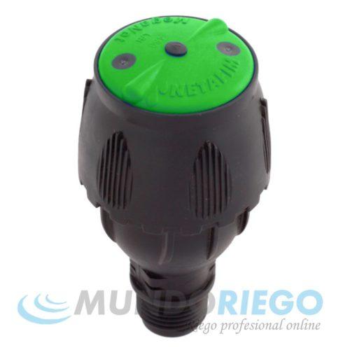 """Aspersor MEGANET 350l/h-24G R.M. 1/2"""" verde"""