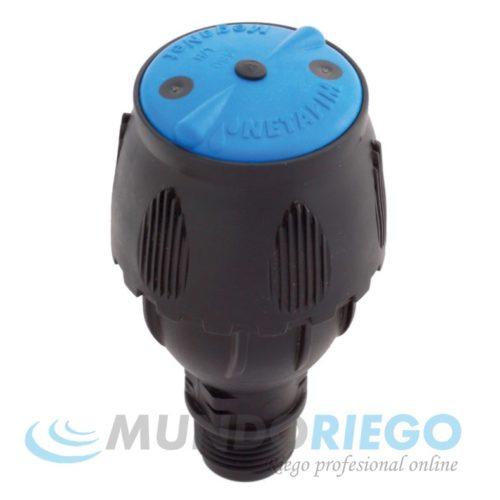 "Aspersor MEGANET 450l/h-24G R.M. 1/2"" azul"
