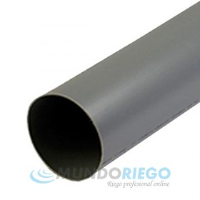 Tubo PVC evacuación ø90mm serie B barra 3m