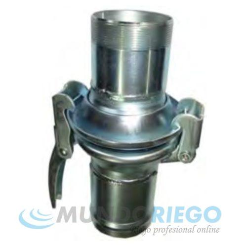 Enlace rótula acero zincado conex. manguera ø75mm - R.M. 2.1/2''