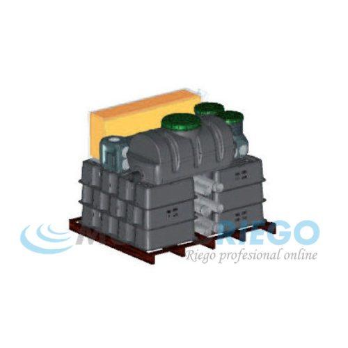 Fosa séptica depuradora oxidación total Epanbloc 4000 2x4