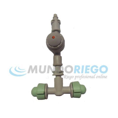 Nebulizador 2 COOLPRO te 5,5l/h+válvula AD40+conexión