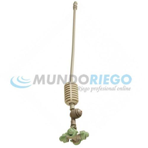 Nebulizador 4 COOLPRO cruz 5,5l/h+estab.15cm+válvula AD40+conexión