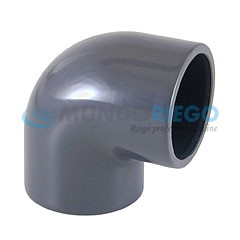 Codo PVC 90º ø90mm encolar PN16