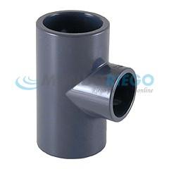Te PVC reducida ø75-ø63mm PN16