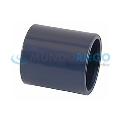 Manguito PVC ø63mm encolar PN16
