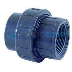 Enlace 3 piezas PVC ø63mm - rosca hembra 2'' PN10