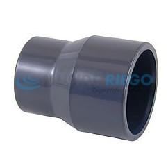 Reducción cónica PVC ø90-ø75mm PN16