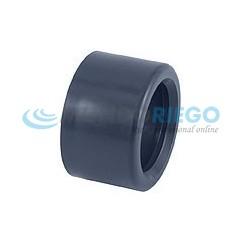 Casquillo PVC reducción ø125-ø90mm PN16