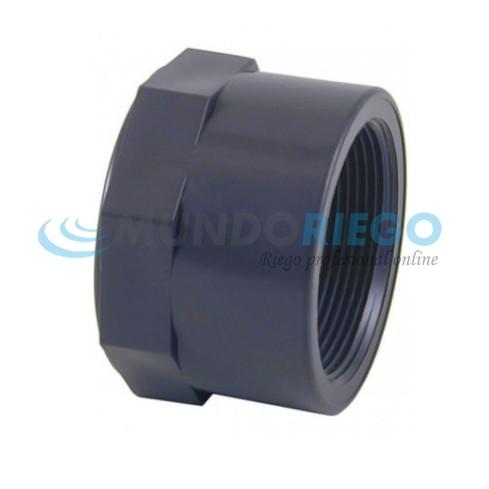 Tapón PVC rosca hembra 1'' PN10