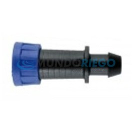 Conexión cinta riego ø16-17mm - tuberia PE