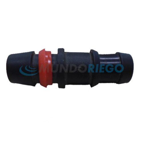 Conexión injerto seguridad ø16mm tubería PE anilla roja