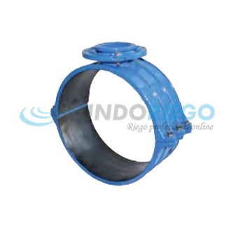 Collarín fundición dúctil ø200mm, salida brida DN125/150