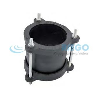 Abrazadera unión Gibault para PVC ø75mm