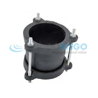 Abrazadera unión Gibault para PVC ø180mm